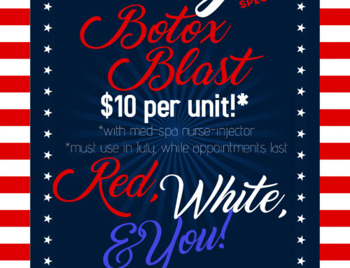 July Med Spa Special (Valid through 7/31/21, while supplies last)