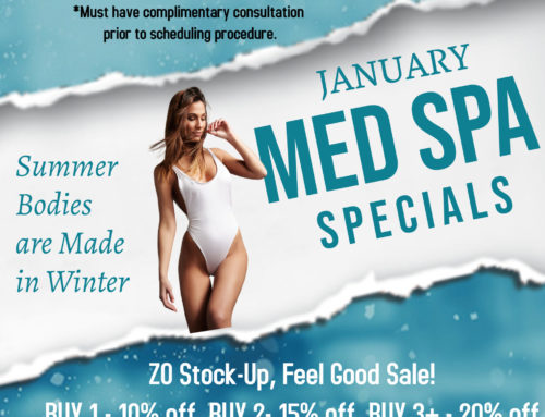 January Med Spa Specials (Offer Ends 1/31/21)